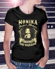 PRINCESS AND WARRIOR - MONIKA Ladies T-Shirt lifestyle-women-crewneck-front-7