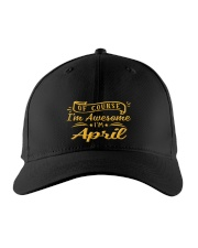 April - Im awesome Embroidered Hat front