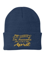 April - Im awesome Knit Beanie tile