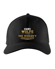 WOLFE - THING YOU WOULDNT UNDERSTAND Embroidered Hat front