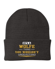 WOLFE - THING YOU WOULDNT UNDERSTAND Knit Beanie thumbnail