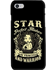 PRINCESS AND WARRIOR - Star Phone Case tile