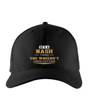 NASH - THING YOU WOULDNT UNDERSTAND Embroidered Hat front