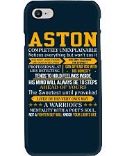Aston - Completely Unexplainable Phone Case thumbnail