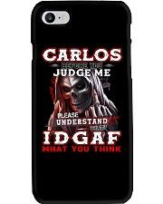 Carlos - IDGAF WHAT YOU THINK M003 Phone Case thumbnail
