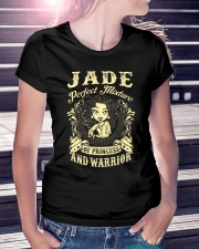 PRINCESS AND WARRIOR - JADE Ladies T-Shirt lifestyle-women-crewneck-front-7