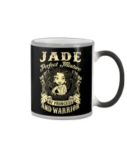 PRINCESS AND WARRIOR - JADE Color Changing Mug thumbnail