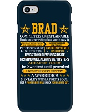 Brad - Completely Unexplainable Phone Case thumbnail