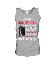 Alex - Son Of God Unisex Tank tile