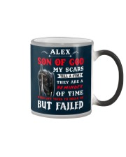 Alex - Son Of God Color Changing Mug tile