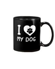 I love my dog Mug thumbnail