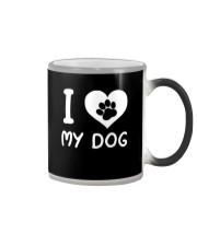 I love my dog Color Changing Mug thumbnail