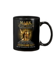 Mark - Warrior of God M004 Mug front