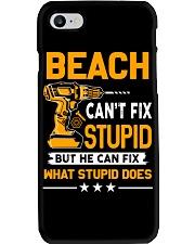 BEACH - FIX WHAT STUPID DOES Phone Case thumbnail
