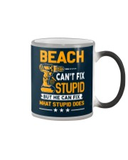 BEACH - FIX WHAT STUPID DOES Color Changing Mug thumbnail