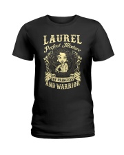 PRINCESS AND WARRIOR - LAUREL Ladies T-Shirt front