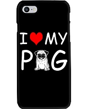 I LOVE MY PUG Phone Case thumbnail