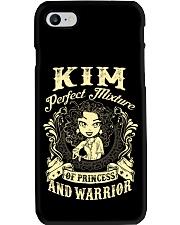 PRINCESS AND WARRIOR - KIM Phone Case thumbnail