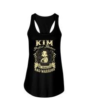 PRINCESS AND WARRIOR - KIM Ladies Flowy Tank thumbnail