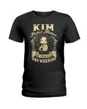 PRINCESS AND WARRIOR - KIM Ladies T-Shirt front