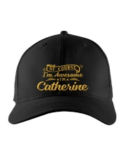 Catherine - Im awesome Embroidered Hat front