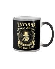 PRINCESS AND WARRIOR - TATYANA Color Changing Mug thumbnail