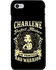 PRINCESS AND WARRIOR - Charlene Phone Case thumbnail