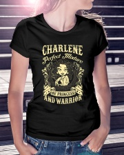 PRINCESS AND WARRIOR - Charlene Ladies T-Shirt lifestyle-women-crewneck-front-7