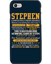 Stephen - Completely Unexplainable Phone Case thumbnail