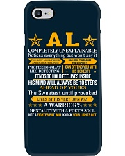Al - Completely Unexplainable Phone Case tile