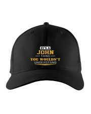 JOHN - THING YOU WOULDNT UNDERSTAND Embroidered Hat front