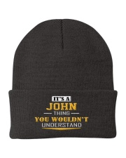 JOHN - THING YOU WOULDNT UNDERSTAND Knit Beanie thumbnail