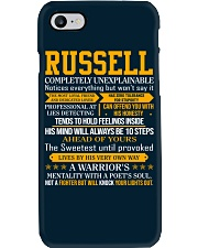 Russell - Completely Unexplainable Phone Case thumbnail
