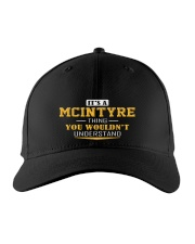 MCINTYRE - Thing You Wouldnt Understand Embroidered Hat front