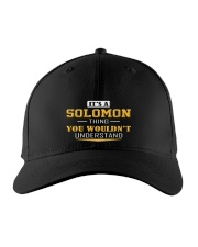 SOLOMON - THING YOU WOULDNT UNDERSTAND Embroidered Hat front