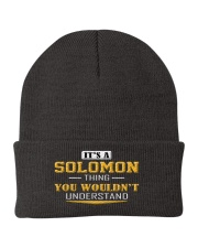 SOLOMON - THING YOU WOULDNT UNDERSTAND Knit Beanie tile