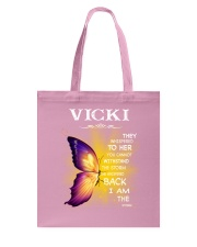 Vicki - I Am The Storm TCH1 Tote Bag thumbnail