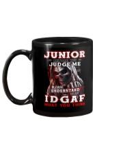 Junior - IDGAF WHAT YOU THINK M003 Mug back