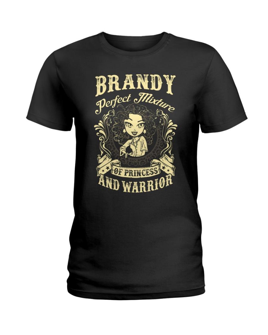 PRINCESS AND WARRIOR - Brandy Ladies T-Shirt