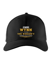 WYNN - Thing You Wouldnt Understand Embroidered Hat front