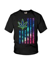Weed flag Youth T-Shirt thumbnail