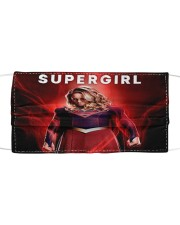 SUPERGIRL Cloth face mask front