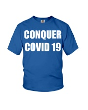Conquer covid 19 Youth T-Shirt thumbnail