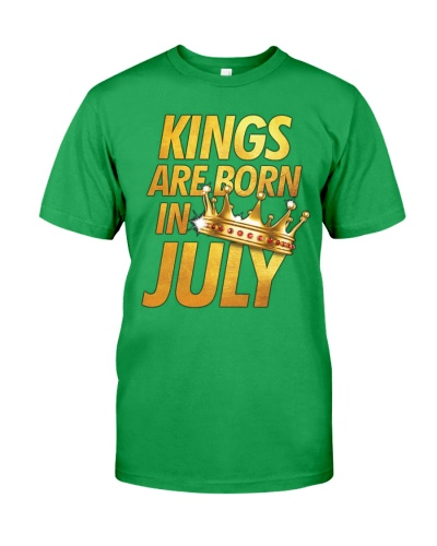 King Are Born In July