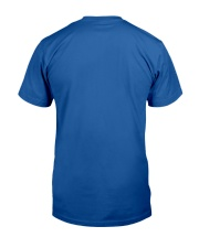 Music on world off - trumpet version Classic T-Shirt back