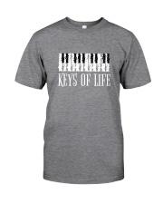 Piano Keys of Life Classic T-Shirt front