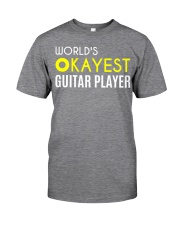 World's okayest guitar player Classic T-Shirt front