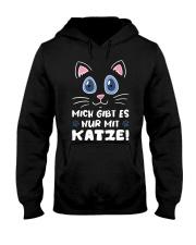 Mich Gibt Es Nur Mit Katze Hooded Sweatshirt front