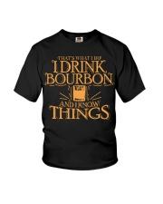 I Drink Bourbon Youth T-Shirt thumbnail