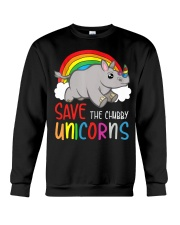Save The Chubby Unicorns Crewneck Sweatshirt tile